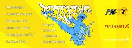 SM i Tricking i Fryshuset i Stockholm
