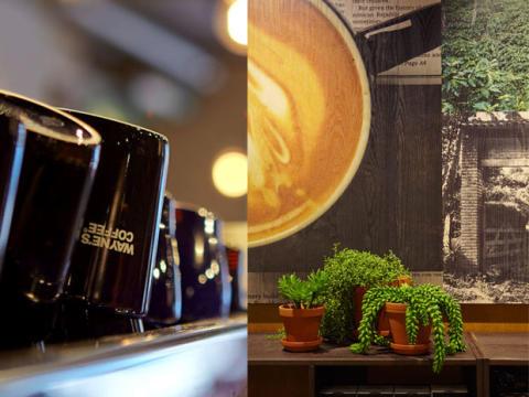 Wayne´s Coffee kommer till Bergvik Köpcenter i Karlstad.