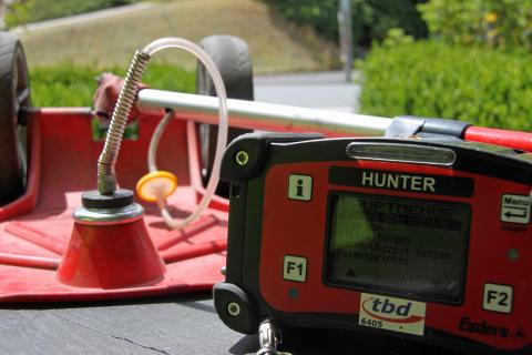 Gasspürer in Oberfranken unterwegs