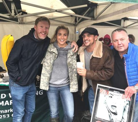 Cash for Kids the winner in Key103 sale on Bury Market