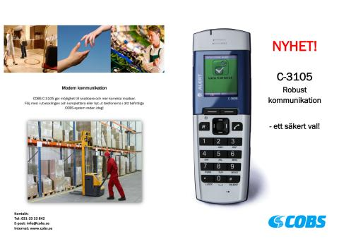 COBS C-3105 Robust kommunikation - broschyr