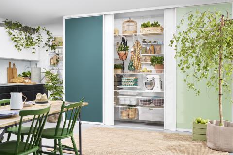 Mehr Raum für Genießer -  Praktische und stilvolle Aufbewahrungslösungen für die Küche