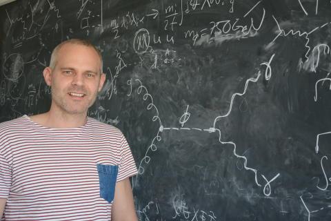 Spår av okänd elementarpartikel förklaras med teori från Chalmers