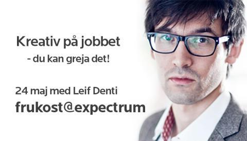 frukost@expectrum 24 maj: Kreativ på jobbet - du kan greja det!