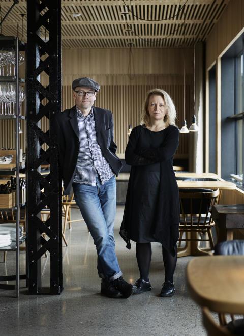 Magnus Ek and Agneta Green