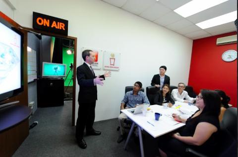Hong Bao Media - Studio and seminar room