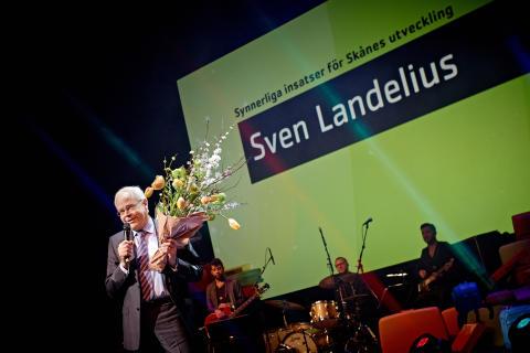 Sven Landelius prisad för insatser för Skåne