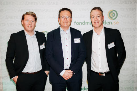 Simon Hansen, Jonal Hall, Magnus Nilsson