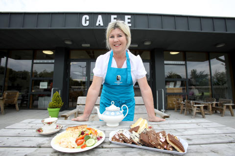 Anne English is the new owner of The Gobbins Cafe