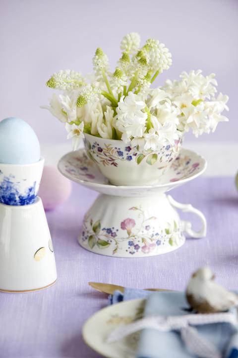 Hyacint och pärlhyacint.