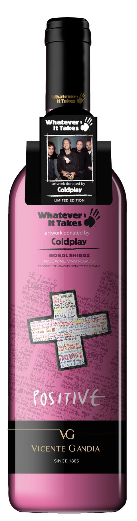 Coldplay Rosé