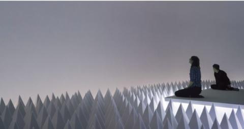 Total stilhed i Guggenheim-museet med BASF Basotec-skum