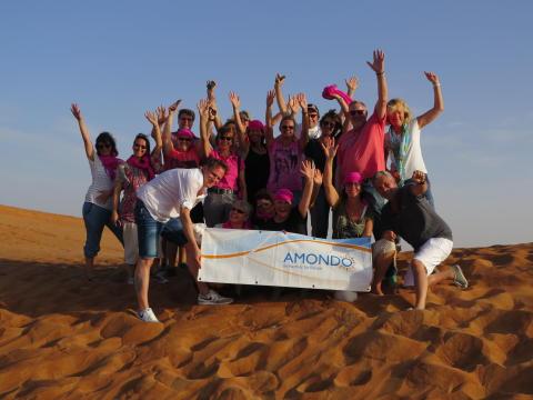 AMONDO hat 20 der Besten in die Wüste geschickt