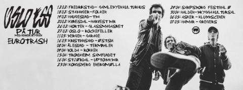 Oslo Ess legger ut på turné