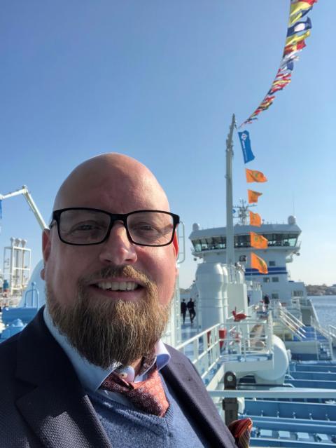 Sjöfartsverket anställer Fredrik Backman som ny rederidirektör