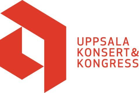 Logotyp UKK - röd