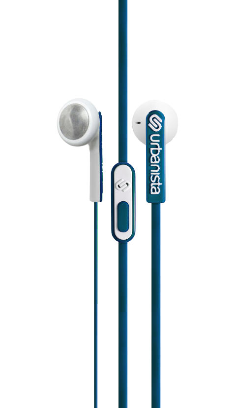 Urbanista Oslo Blue Petroleum - hanger earphone