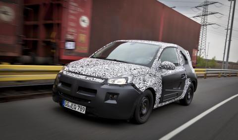 """Opel """"Junior"""" - Avslöjandet"""