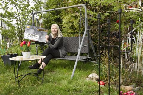 Liisa från Kungsäter har vunnit en miljon i Kombilotteriet