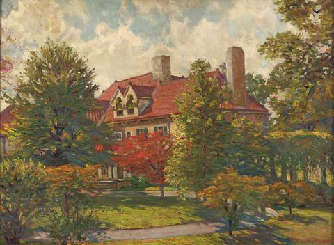 Robert Emmett Owen 1878-1957, Sold at auction 2007 / Sotheby´s