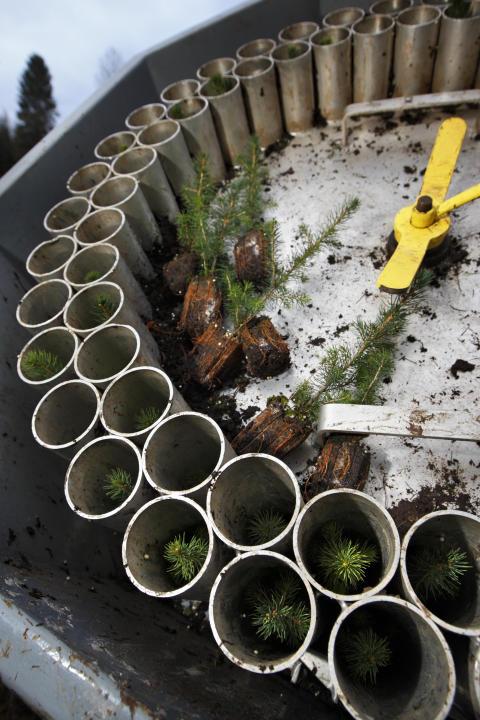 Planteringsaggregat
