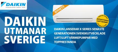 Daikin visar sitt breda produktutbud på Hem & Villa mässan i Stockholm