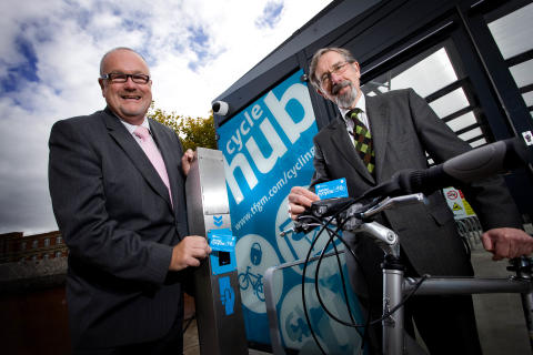Bury gears up for launch of new cycle hub