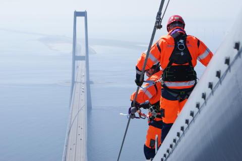Podcast: hør fortællinger fra Storebæltsbroen
