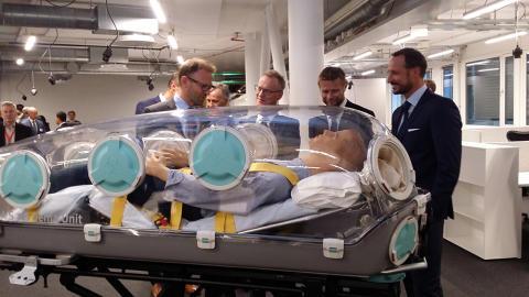 Åpnet helseinkubator med store ambisjoner