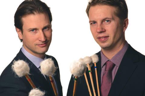 Johan Bridger och Patrick Raab