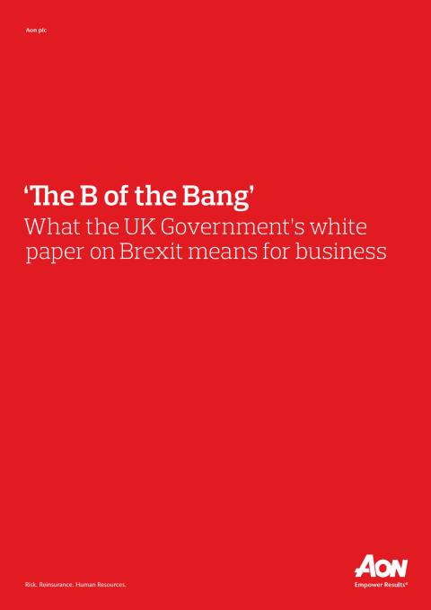 The B of the Bang - Brexit
