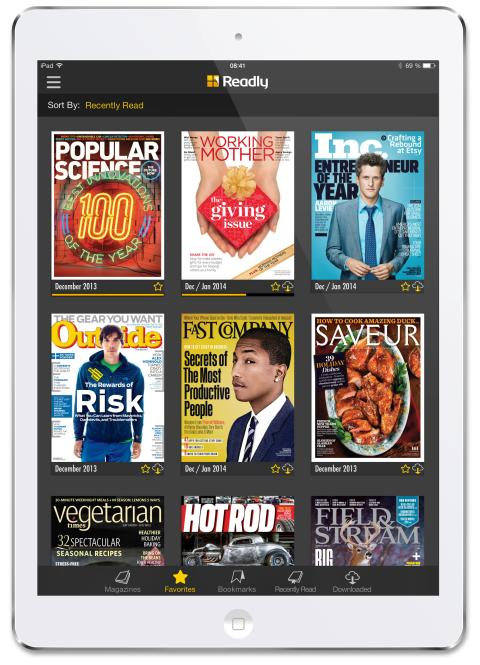 3D issue - Will Readly Be the Next Spotify for Magazines?