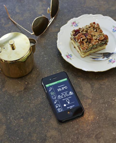 Styr hemmet på avstånd – med din smartphone!