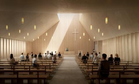 Vennesla kirke interior