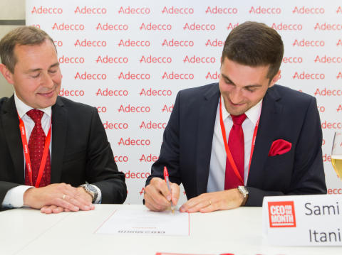 Sami Itani on Adecco Finlandin CEO for One Month