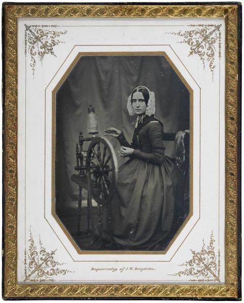 Nationalmuseum förvärvar daguerreotyp av Johan Wilhelm Bergström