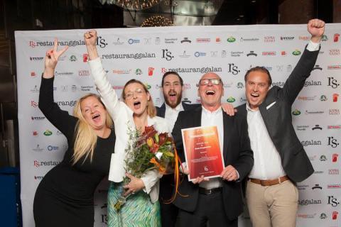 Brasseriet vinner Årets Kroginteriör på Restauranggalan