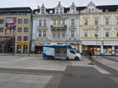 Beratungsmobil der Unabhängigen Patientenberatung kommt am 25. April nach Saarlouis.