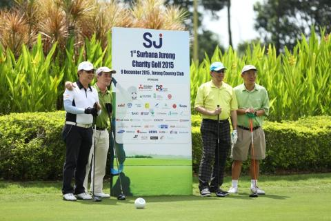 Surbana Jurong's Inaugural charity golf event raises over S$120,000 for St. John's Home for Elderly Persons and The Yellow Ribbon Project