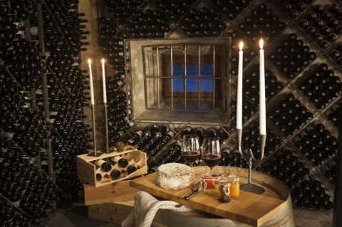 Vickning i vinkällaren