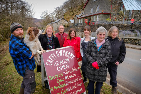 Walkers in Snowdonia set to benefit as fibre broadband takes ultrafast step forward