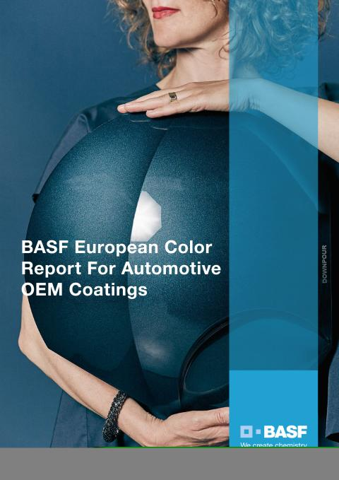 The BASF European Color Report for Automotive OEM Coating