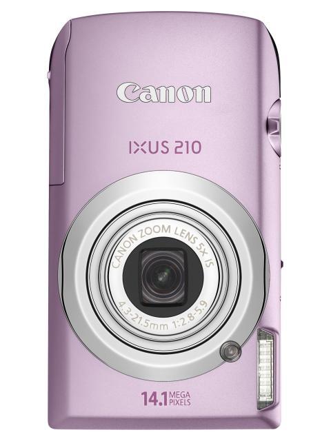 IXUS 210 Pink front