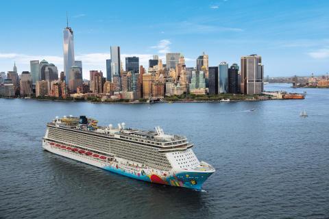 Norwegian Cruise Line avduker reiserutene i Nord-Amerika, Bahamas og Bermuda for sommeren 2017