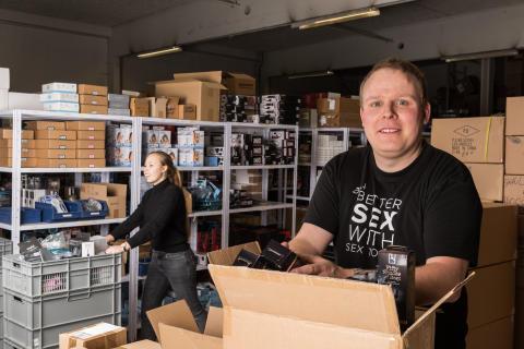 Søren Jensen, lagerchef
