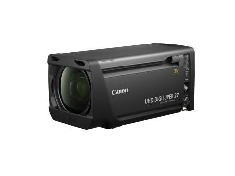 Canon lanserar ett förstklassigt 4k broadcast-objektiv – UJ27×6.5B IESD
