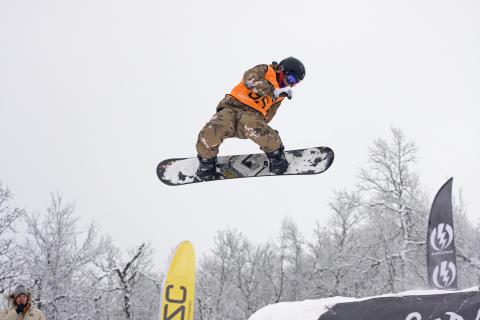 Slopestylekonkurranse i nye Hemsedalparken 4. desember