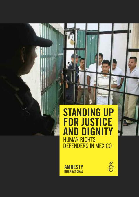 Standing up for justice and dignity - Rapport