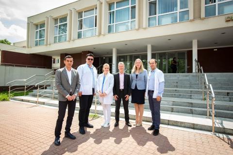 Echipa Ford și Echipa Spitalului Județean de Urgență Craiova