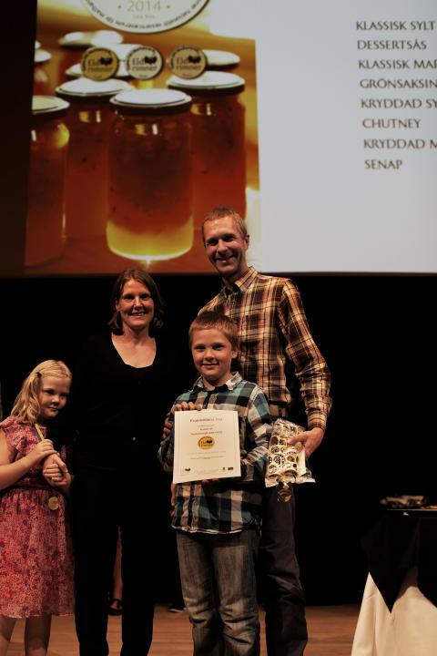 Företaget Fruemöllans Bär från Skåne vann klassen Klassisk marmelad